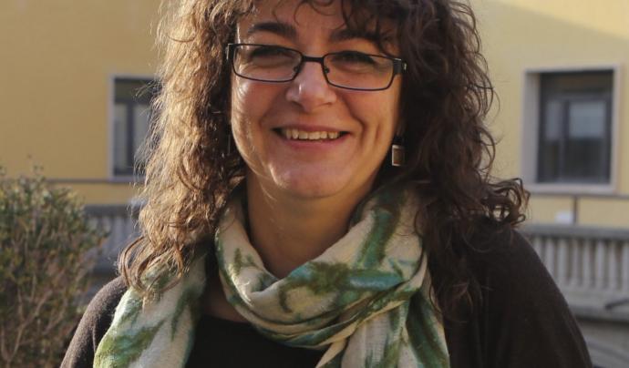 Ana Novella, experta en drets de la infància i professora de la UB.  Font: UB