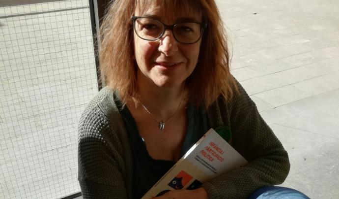 Novella va participar en la redacció del projecte que va derivar en la creació del Consell Nacional de la Infància i l'Adolescència de Catalunya. Font: UB. Font: UB