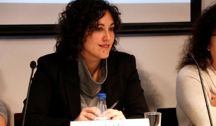 Anaïs Franquesa és la portaveu de Trial Watch pel judici 1-0 Font: ACN