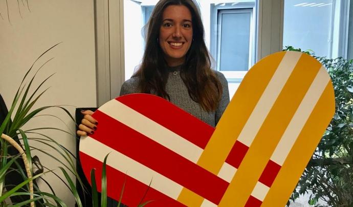Andrea Álamo, responsable de comunicació de #GivingTuesday a Catalunya. Font: Giving Tuesday