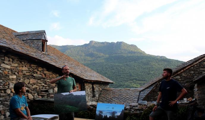 Projecte Boscos de Muntanya forma part de la Fundació Bergwaldprojekt. Font: Projectes Boscos de Muntanya
