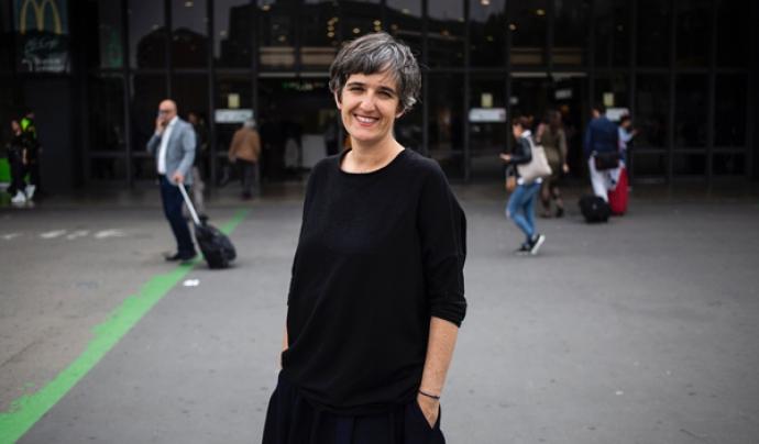 Angela Pretch, cap de comunicació del projecte Decidim Font: Cèlia Atset