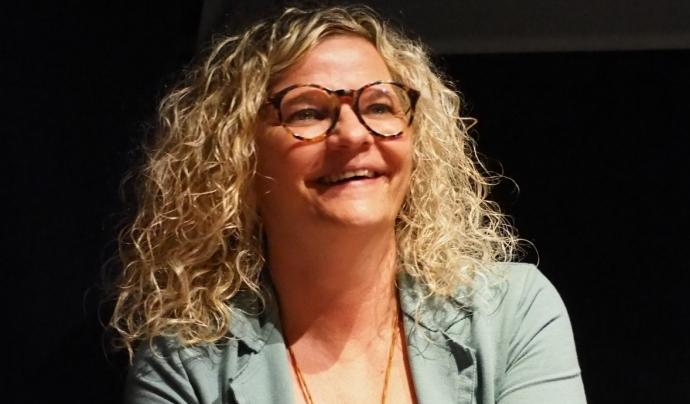 Anna Lara és psicòloga i des de fa gairebé 20 anys treballa a l'Associació Comunitària Anti-Sida de Girona. Font: ACAS