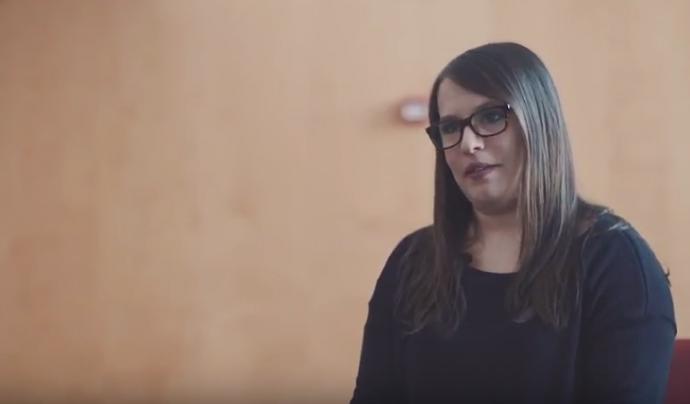 Anna Morancho, tècnica de projectes Font: CJB (Youtube)
