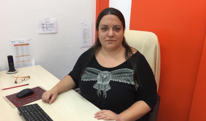 L'Anna, coordinadora pedagògica-social de la fundació Font: Fundació Social del Raval