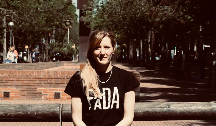 Anna Estaran és activista i advocada de la Fundació per a l'Assessorament i l'Acció en Defensa dels Animals. Font: FAADA. Font: FAADA