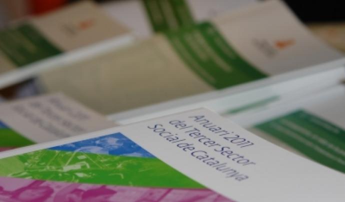 L'Anuari del Tercer Sector s'elabora amb dades que procedeixen de l'Observatori del Tercer Sector Font: Taula d'entitats del Tercer Sector