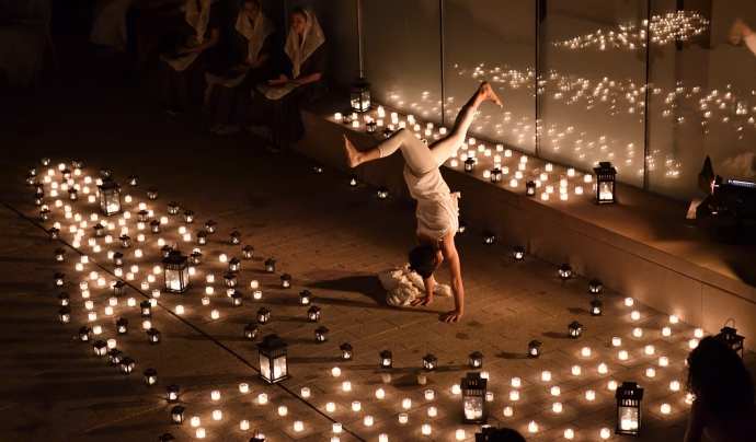 L'apagada de misteri és un dels esdeveniments més esperats del Festival de Llegendes, que se celebra a Sant Martí de Tous. Font: Festival de Llegendes.
