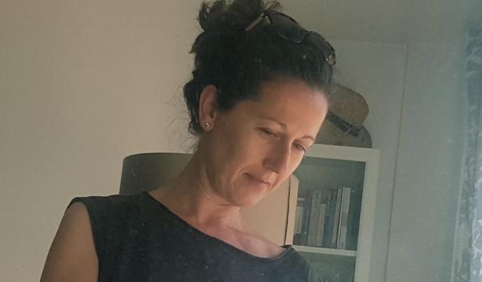 Carol Roura és la coordinadora del grup de divendres. Font: Carol Roura. Font: Font: Carol Roura.