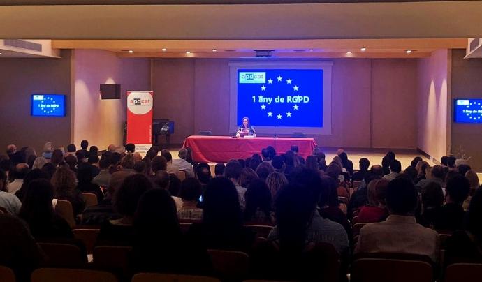 El debat de l'ACPD es va organitzar el 15 de maig al Conservatori Municipal de Música de Barcelona. Font: ACPD. Font: ACPD