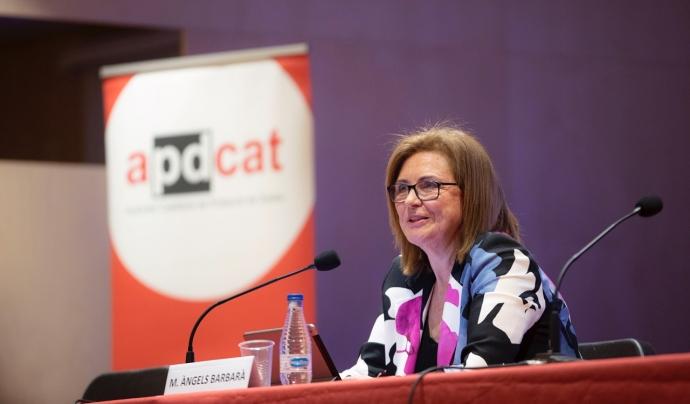 Maria Àngels Barberà, directora de l'Autoritat Catalana de Protecció de Dades (ACPD). Font: ACPD. Font: ACPD