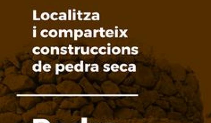 Les dades que s'aporten amb l'app es sincronitzen al portal wikipedra Font: Pedra Seca Adrinoc apps