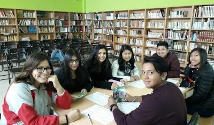 Participants en una de les edicions de 'Joves pel barri'