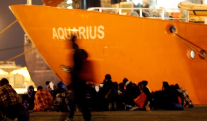 El vaixell Aquarius