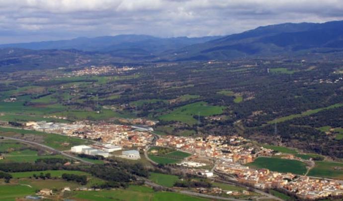 Imatge del paissatge de Centelles. Font: Ara o Mai per la defensa del territori Font: