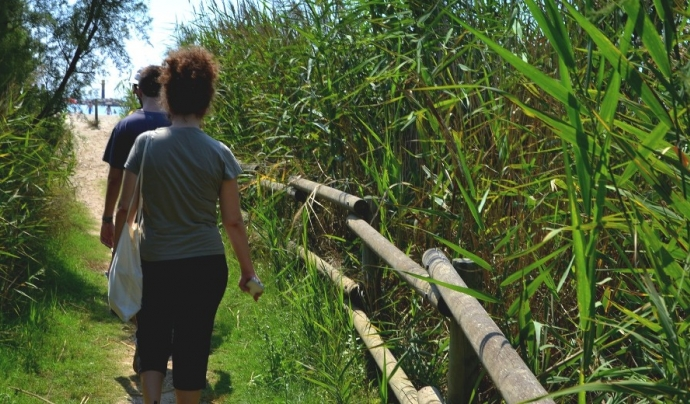 L'Associació Mediambiental La Sínia conserva en custòdia els espais naturals de la desembocadura del riu Gaià (imatge: arrelia.cat)