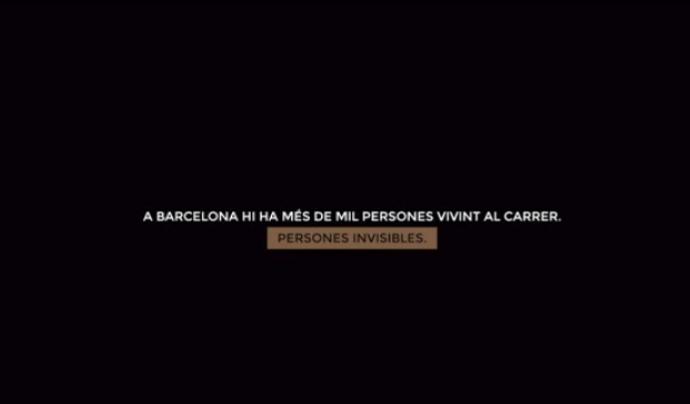 """Arrels denuncia la """"realitat invisible"""" del sensellarisme. Font: Arrels Fundació"""