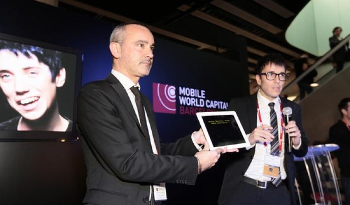 L'acte de presentació d'ArtAccés va tenir lloc en la darrera edició del MWC