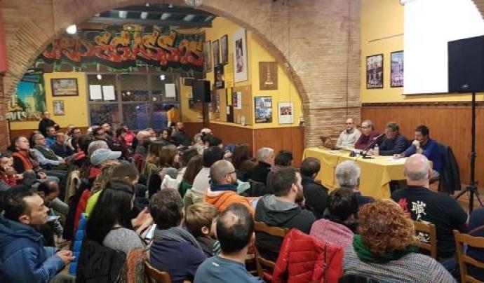 """Assemblea de la colla castellera """"Bordegassos de Vilanova"""" Font: Bordegassos de Vilanova"""