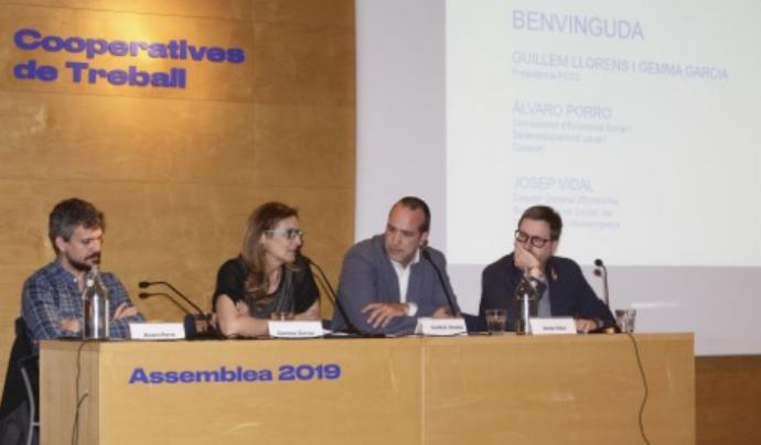Al 2018 el nombre de cooperatives federades va créixer un 33%. Font: Cooperatives de Treball de Catalunya