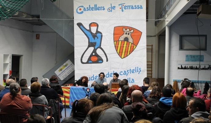 "Assemblea de la colla castellera ""castellers de Terrassa"""