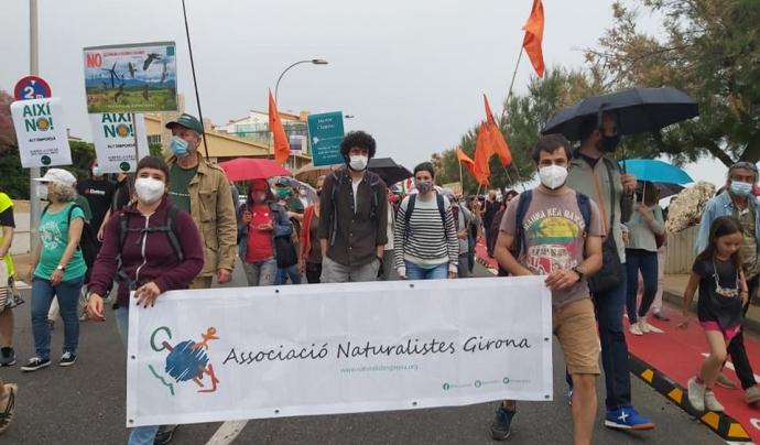 Les col·laboracions amb entitats ambientals també poden ser en actes divulgatius. Font: Associació de Naturalistes de Girona