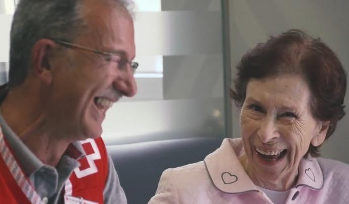 La Creu Roja necessita voluntariat en l'àmbit de la gent gran.