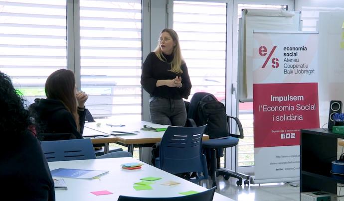La II Taula Territorial 2020 es farà de manera telemàtica a través de Zoom. Font: Ateneu Cooperatiu Baix Llobregat