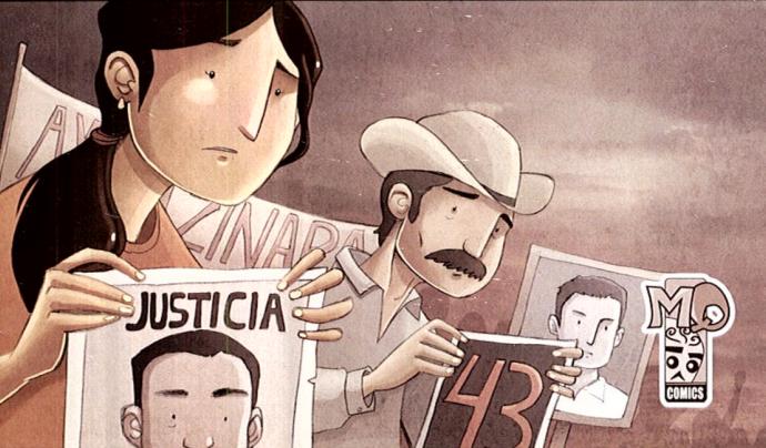 Il·lustració del còmic d'Augusto Mora 'Grito de victoria'. Font: Augusto Mora