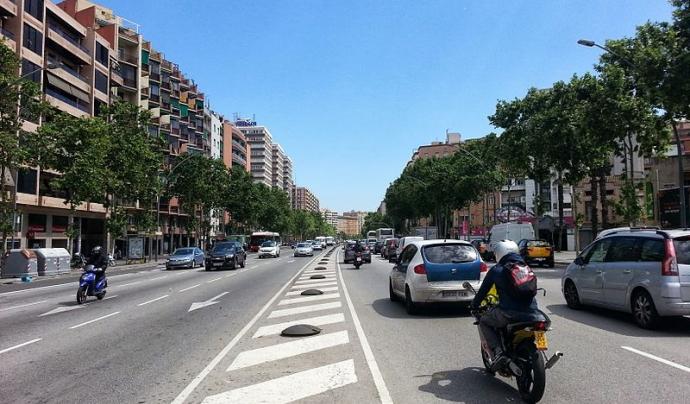L'Avinguda Meridiana de Barcelona