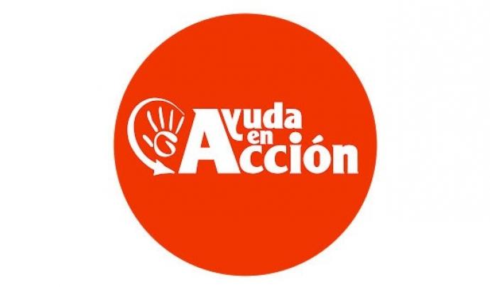 Logotip d'Ajuda en Acció. Font: Ajuda en Acció