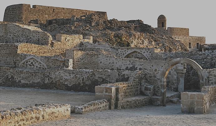 Qal'at al-Bahrain a Bahrain, península aràbiga