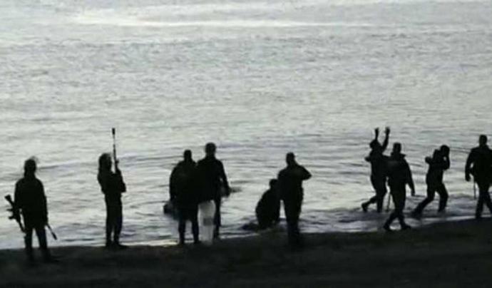 """Imatge del cas de Tarajal que denuncia el documental """"Tarajal: desmuntant la impunitat a la frontera sud"""""""
