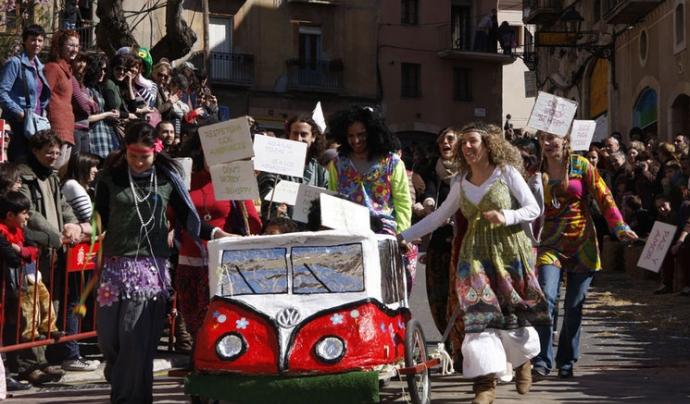 Baixada del Pajaritu a Tarragona