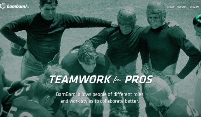 BamBam! és un gestor de projectes que s'organitza mitjançant tasques