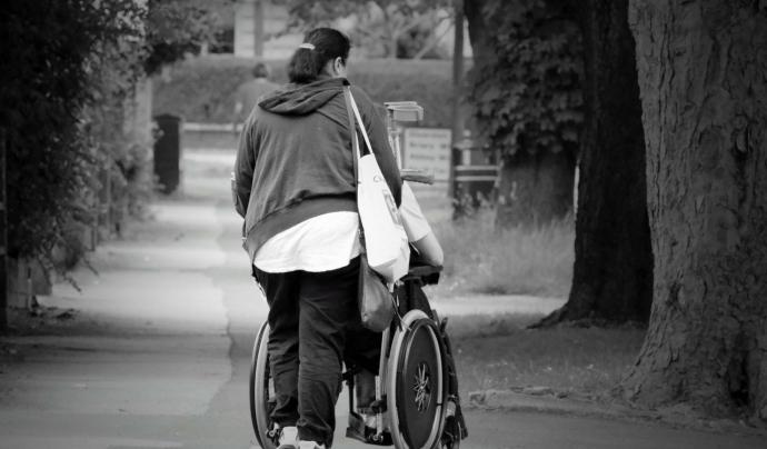 La major part de sol·licituds estan relacionades amb l'acompanyament mèdic i passejades pel barri. Font: Llicència CC