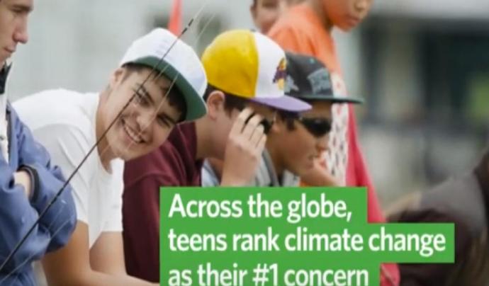 Per a The Nature Conservancy els i les adolescents jugaran un paper important per la defensa del medi ambient el 2019 Font: The Nature Conservancy