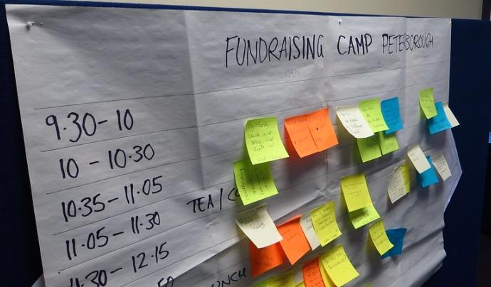 La campanya vol col·laborar amb el sector cultural mitjançant petits donatius.  Imatge de Howard Lake. Llicència d'ús CC BY-SA 2.0 Font: Howard Lake. Llicència d'ús CC BY-SA 2.0