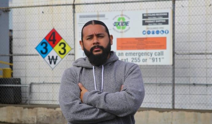 El nord-americà Mark Lopez va lluitar per la descontaminació de plom d'un barri a l'est de Los Angeles  Font: Goldman Prize