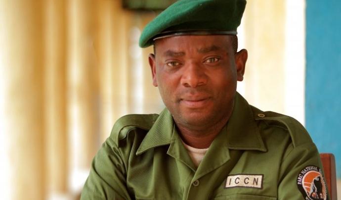 Rodrigue Mugaruka Katembo, guardiaboscos de Virunga reconegut amb el Premi Goldman 2017  Font: Premi Goldman