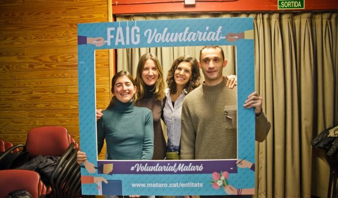 El lliurament dels premis es durà a terme durant la Festa del Voluntariat. Font: Ajuntament de Mataró