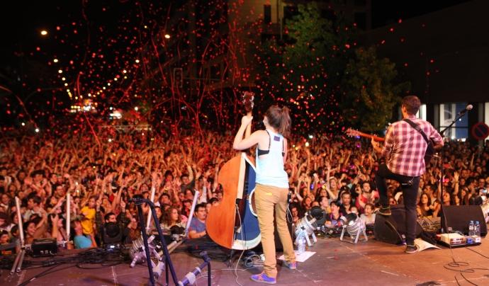 Concert de Els Catarres a Sabadell  Font: Ajuntament de Sabadell