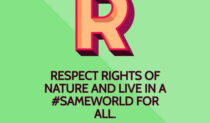 SameWorld promou una comunitat de persones joves implicades en la justícia ambiental  Font: Same World