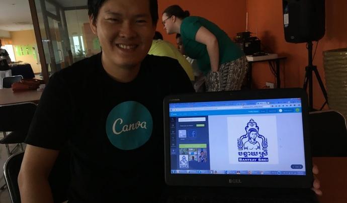 La gratuïtat d'algunes eines amaga certes pràctiques poc ètiques.  Imatge de Cambodia4kids.org. Llicència d'ús CC BY 2.0 Font: Cambodia4kids.org. Llicència d'ús CC BY 2.0
