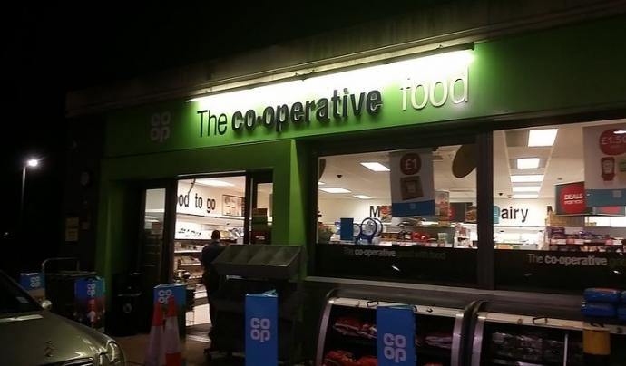 Kmcat vol ser un supermercat cooperatiu de proximitat. Imatge de David Howard. Llicència d'ús CC BY 2.0 Font: David Howard. Llicència d'ús CC BY 2.0