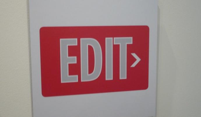 Els arxius PDF tenen una característica molt important, no es poden editar. Imatge de Matt Hampel. Llicència d'ús CC BY 2.0 Font: Matt Hampel. Llicència d'ús CC BY 2.0