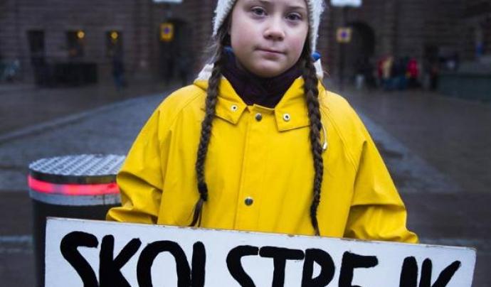 'Cambiemos el mundo' reuneix els discursos de la jove activista climàtica Greta Thunberg Font: Greta Thunberg