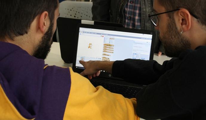 Trobada de robòtica creativa de la Xarxa Punt TIC Font: Xarxa Punt TIC