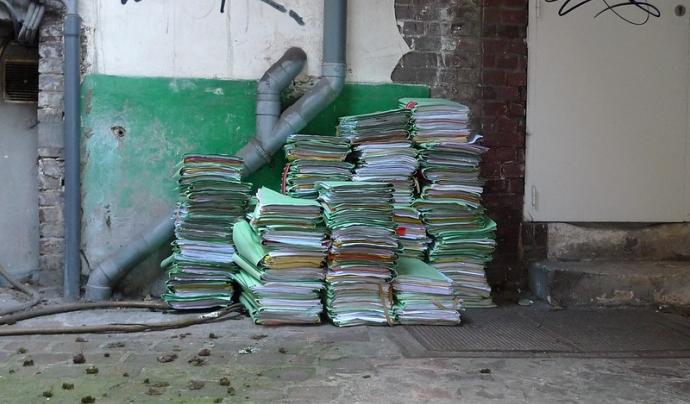 Moltes vegades els arxius de l'entitat s'acaben perdent per no saber com gestionar-los.  Imatge de Môsieur J. Llicència d'ús CC BY 2.0 Font: Môsieur J. Llicència d'ús CC BY 2.0