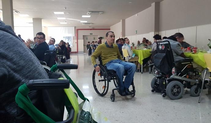 La gimcana 'Ara tu tens l'oportunitat. Viu les discapacitats' s'inicia el Dia Internacional de les Persones amb Discapacitat. Font: Imserso San Fernando, Flickr
